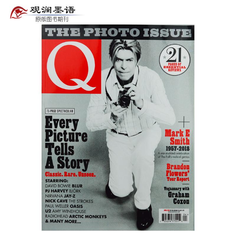 Q 电声杂志 N.383 2018年4月 英国著名 音乐资讯乐队明星杂志