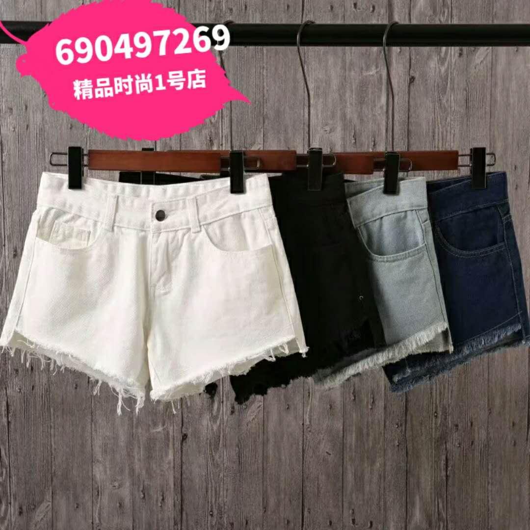 2018年热卖爆款牛仔短裤,4色,分码,质量非常好,夏季必备品