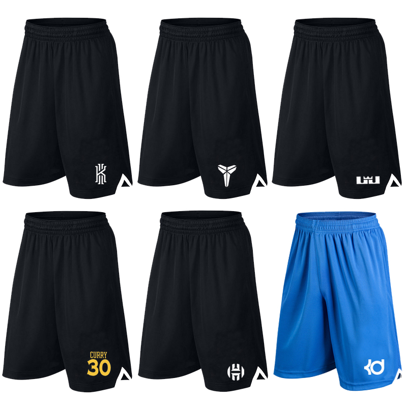 Kobe Irving Ross quick dry Breathable large loose basketball pants mens summer Capris running fitness shorts