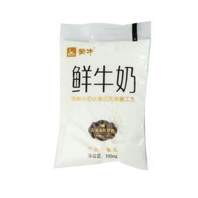 蒙牛鲜牛奶(巴氏杀 菌乳) 180mL/袋