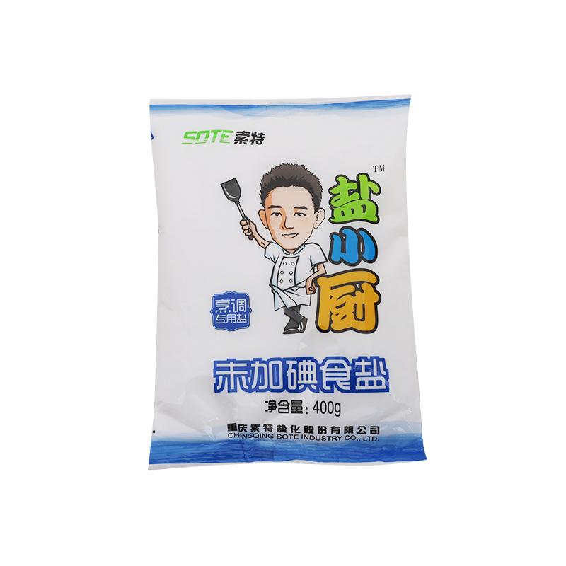 盐小厨未加碘食盐400g/袋
