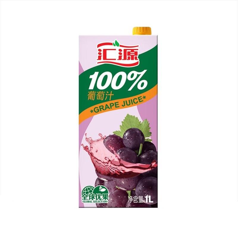 汇源100%葡萄汁  1L/盒