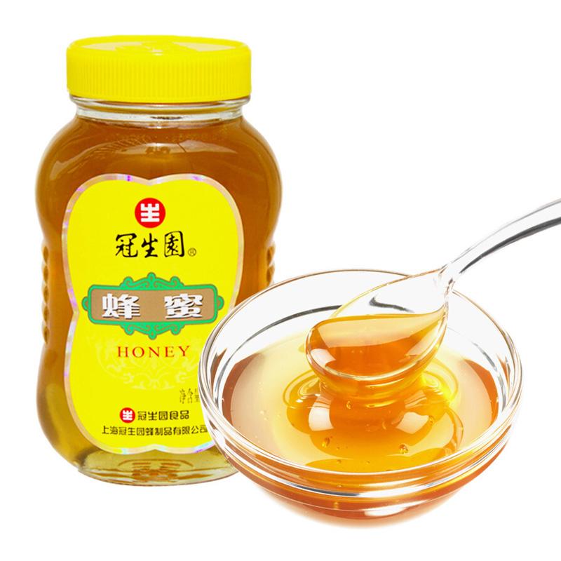 冠生园蜂蜜土蜂蜜 500克/瓶
