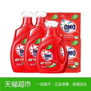 领1元券购买奥妙洗衣液 除菌除螨 8.46KG组合装 源自天然酵素