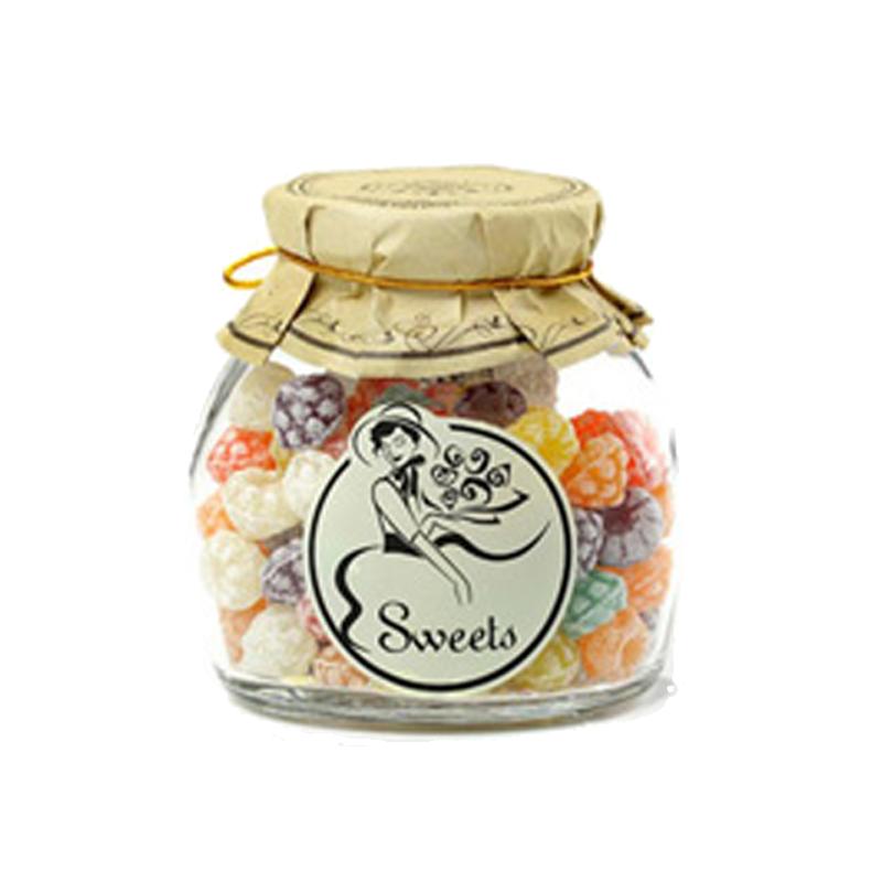 西班牙 莎莎的店1886草莓形水果糖150克 瓶什錦味