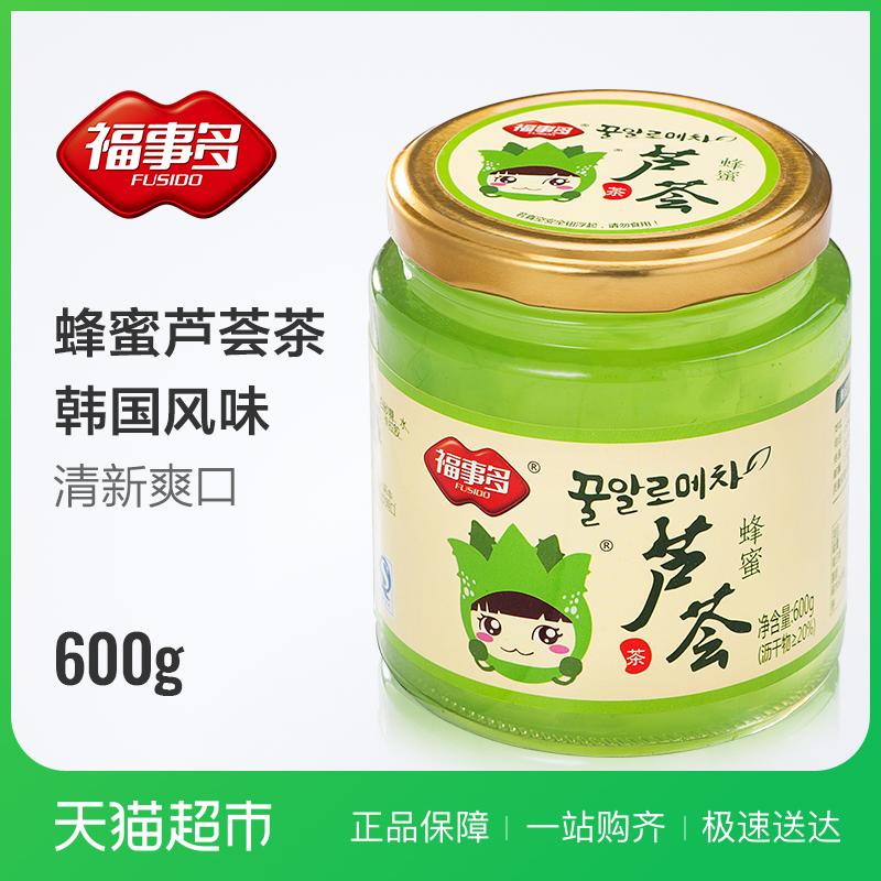 Благословение вещь больше мед алоэ чай 600g корейский мед совершенствовать грейпфрут сын фрукты чай порыв напиток статья