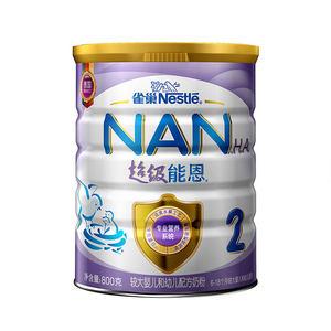 Nestle/雀巢 超级能恩2段婴儿配方进口奶粉 800g/罐