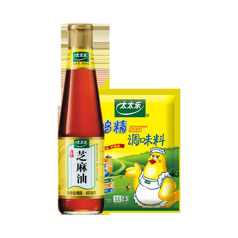 【 рысь супермаркеты 】 слишком слишком музыка пресс экстракт еда использование приправа масло чистый кунжут масло 405mL три подарка свежий курица хорошо 100g