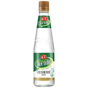 海天 9度纯酿米醋450ml 白醋  调料配料炒菜 蘸料醋