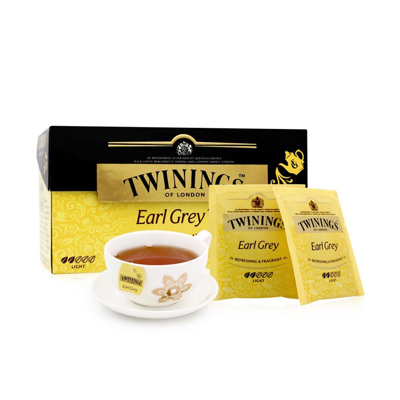 Twinings Twinings UK Import Tea Ho дверь граф красный чай пакет 25 мешков бергамотового ароматного пакетика