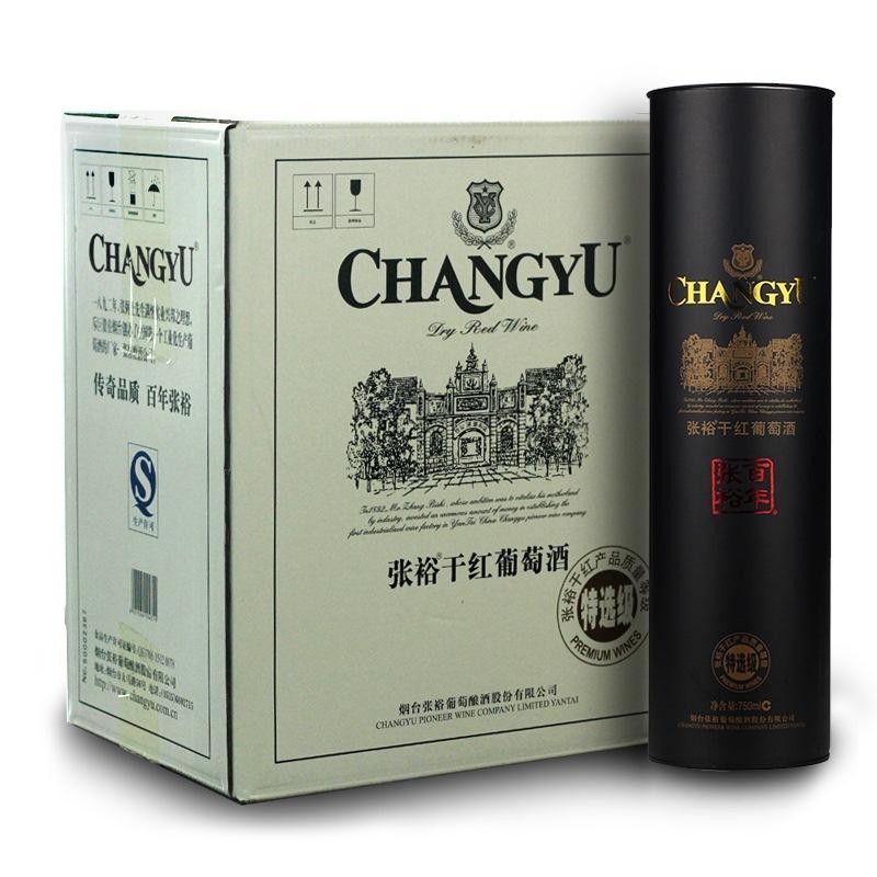~天貓超市~張裕 特選級幹紅葡萄酒(圓筒)750mL^~6 紅酒