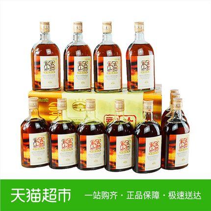 古越龙山绍兴黄酒清醇三年500ml*12瓶花雕酒整箱糯米酒可浸泡阿胶