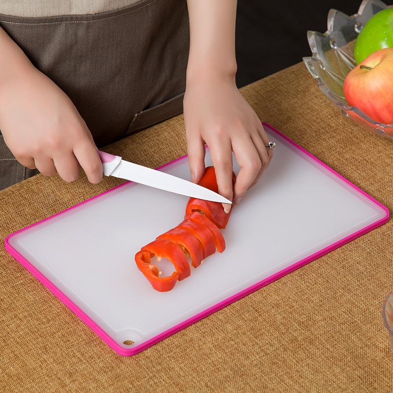 ~天貓超市~嫻雅廚房抗菌雙麵砧板寶寶嬰兒輔食切菜板水果案板