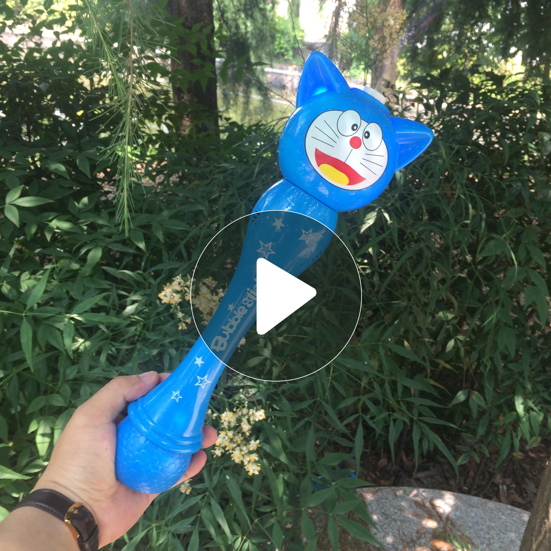 儿童泡泡机全自动不漏水七彩电动吹泡泡神器魔法棒玩具音乐泡泡枪