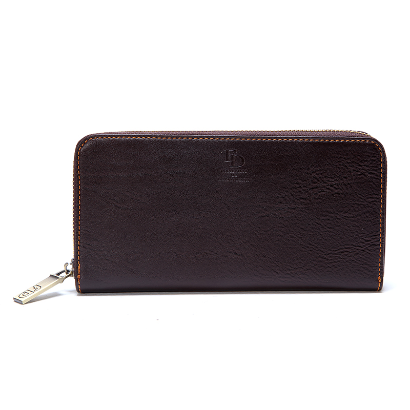 Fortune duck kechunde Fugui new wallet simple and practical fashion long fashion wallet business pull