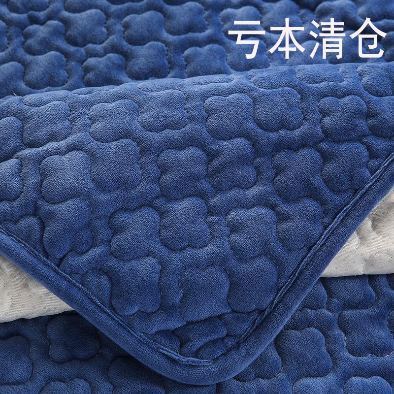 定制布艺冬季毛绒沙发垫防滑坐垫现代简约沙发套全盖加厚北欧清仓