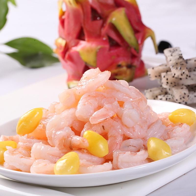【肴之川】南美青虾仁 单冻500g白对虾水晶虾仁 冷冻海鲜鲜嫩Q弹