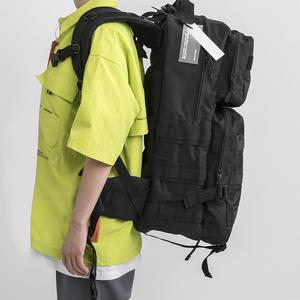 旅行包超大容量行李包男双肩背包运动户外登山包机能工装战术背包