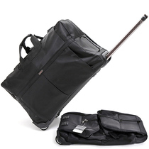 新款拉杆包旅行袋女手提行李包男超大容量折叠防水搬家航空托账包