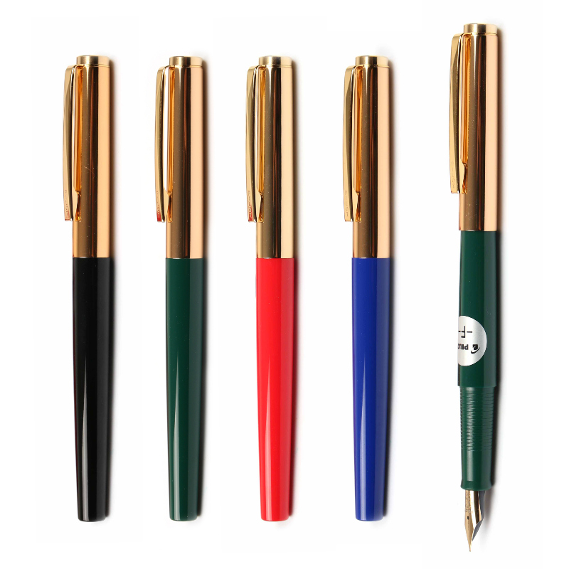 日本PILOT百乐AMS-17G灌墨式钢笔 百乐78G进化版 22k包金笔尖