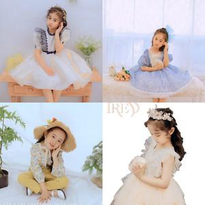 2020新款儿童摄影服装时尚连衣裙6-8岁小女孩公主裙写真拍照服饰