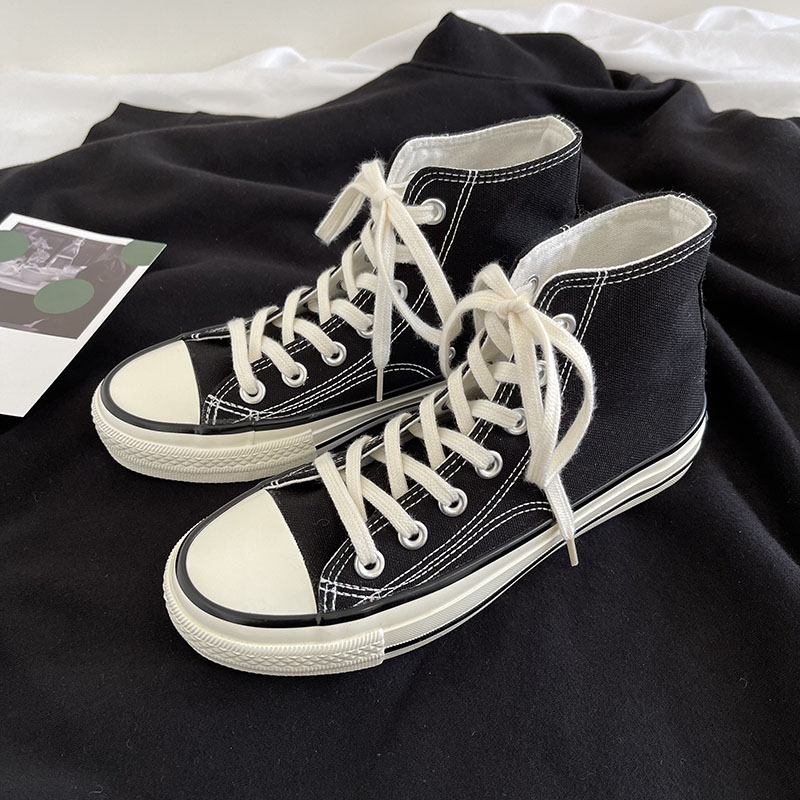 1970 classic high top Unisex casual couples versatile flat bottom breathable 2021 spring lace up canvas shoes