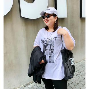 木子理想2020春夏新款大码短袖T恤