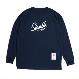SLAMBLE 纯色运动长袖T恤速干排汗训练热身篮球服 出场服健身服图片