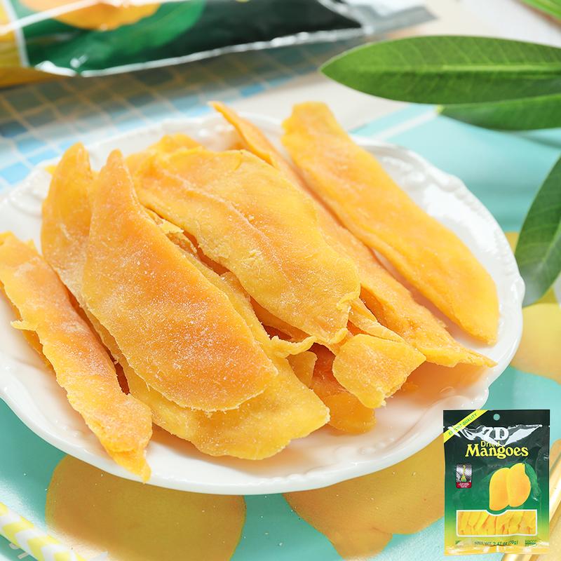 菲律宾进口零食 道吉草7D芒果干水果蜜饯干零食办公室休闲食品70g图片