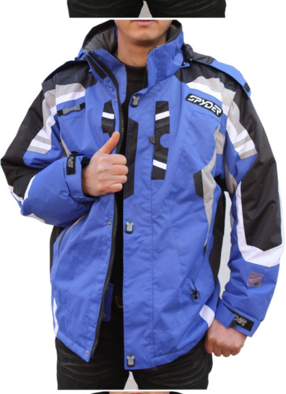 Spyder spider ski suit mens waterproof super warm and breathable professional double board double board jacket