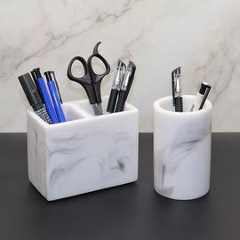 北欧笔架收纳笔筒学生办公室桌面笔桶收纳盒时尚多功能笔座收纳架