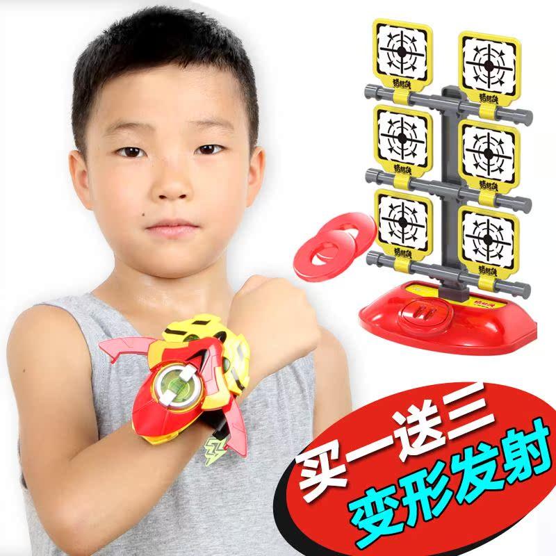 爆款热卖之超级萌宠五灵超星心锁变身召唤器手表变形铁拳虎玩具套