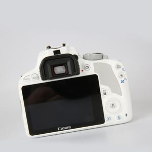 免息 佳能 EOS 100D白色18-55套机 数码入门单反相机kiss X7