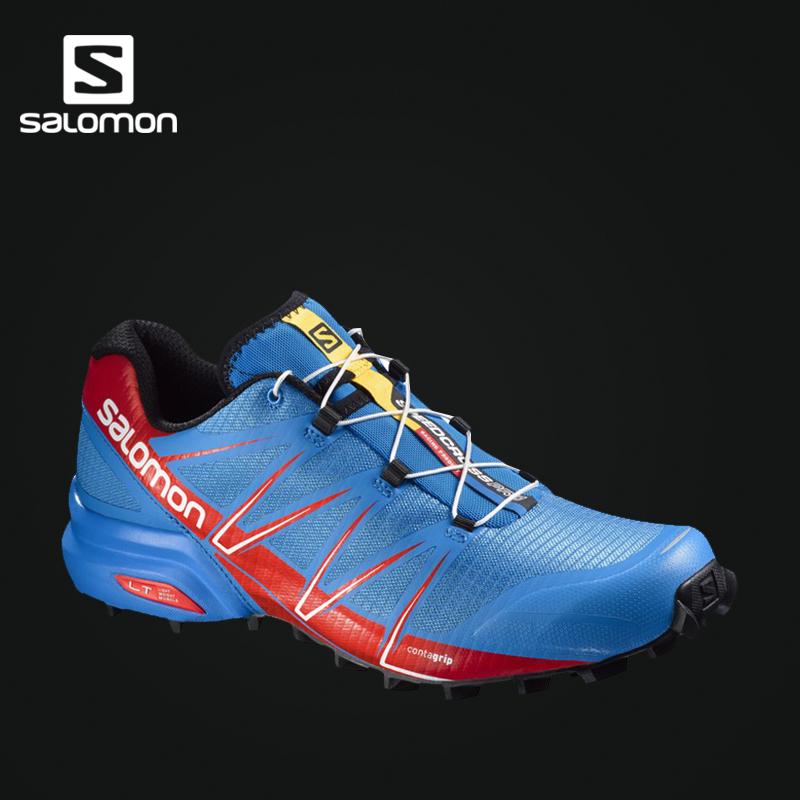Salomon 萨洛蒙男款户外越野跑鞋 SPEEDCROSS PRO