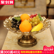 European modern creative glass fruit basket fruit bucket decoration living room home coffee table decoration decoration