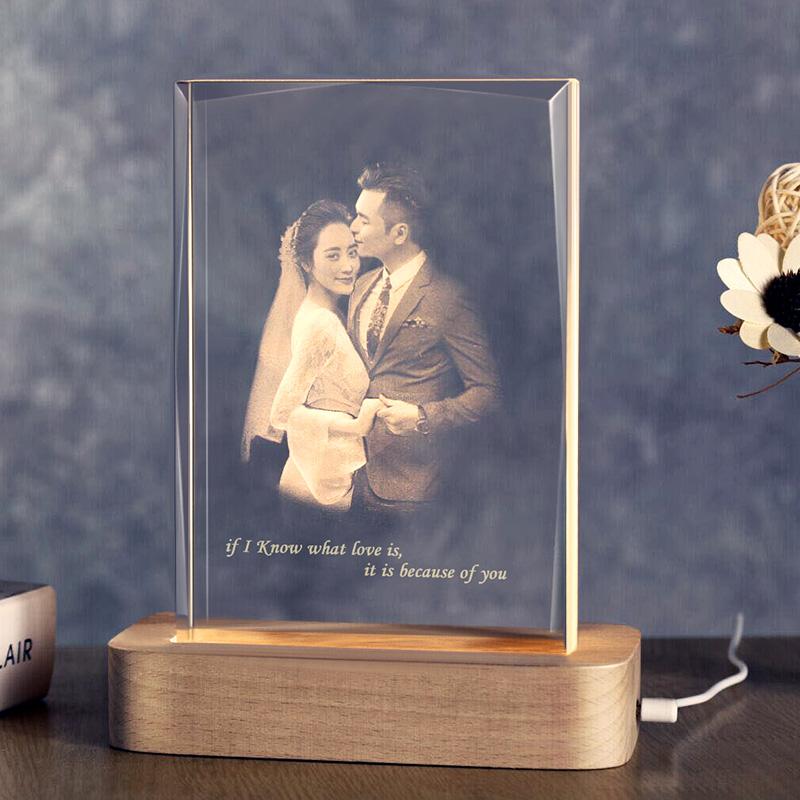 情人节结婚纪念日新婚礼物闺蜜水晶高档个性浪漫实用朋友送老婆