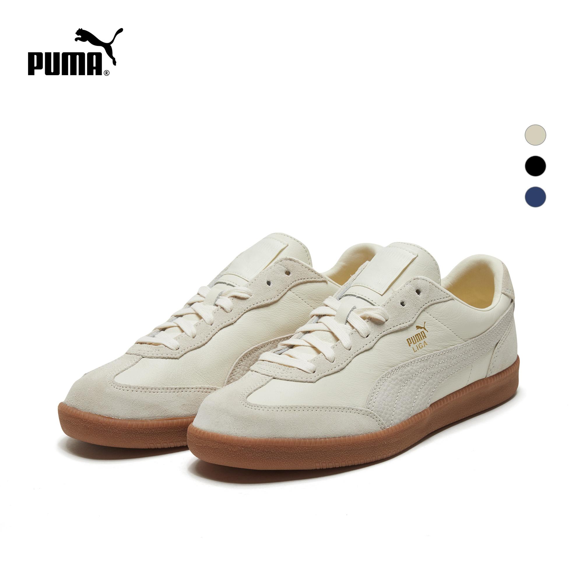 PUMA彪马官方正品 新款男子复古风休闲鞋LIGA LEATHER 364597