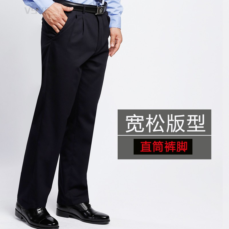 Security pants mens security spring and autumn winter pants security summer pants security uniform trousers Summer Black thickened work pants