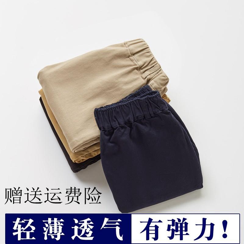 儿童休闲男童五分裤夏季卡其色短裤需要用券