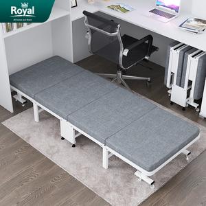简易折叠床单人便携午睡办公室午休神器家用睡椅四折行军陪护床
