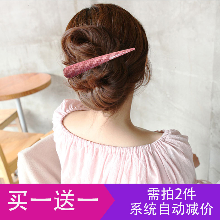 Acrylic hair accessories high grade acetic acid large duck beak hairpin plate hairpin horn clip Korean high grade headdress