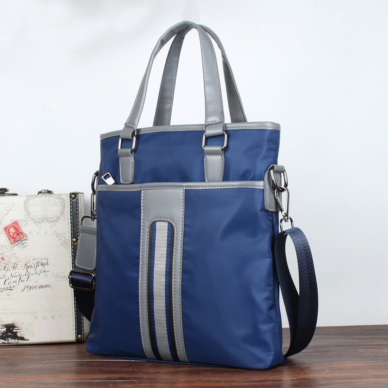 Mens single shoulder bag, Messenger Bag, briefcase, vertical version, business and leisure