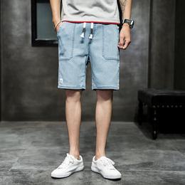 夏季薄款牛仔短裤