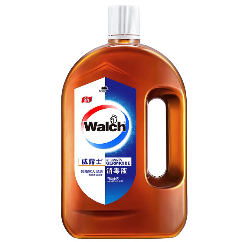 威露士衣物家居消毒液高浓度消毒水多用途消毒衣物地板杀菌1L瓶装
