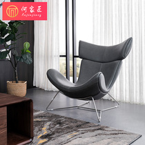 Hejia Craftsman Lounge Chair Nordic Simple modern comfortable eggshell chair Nordic space Chair computer Chair office chair casual