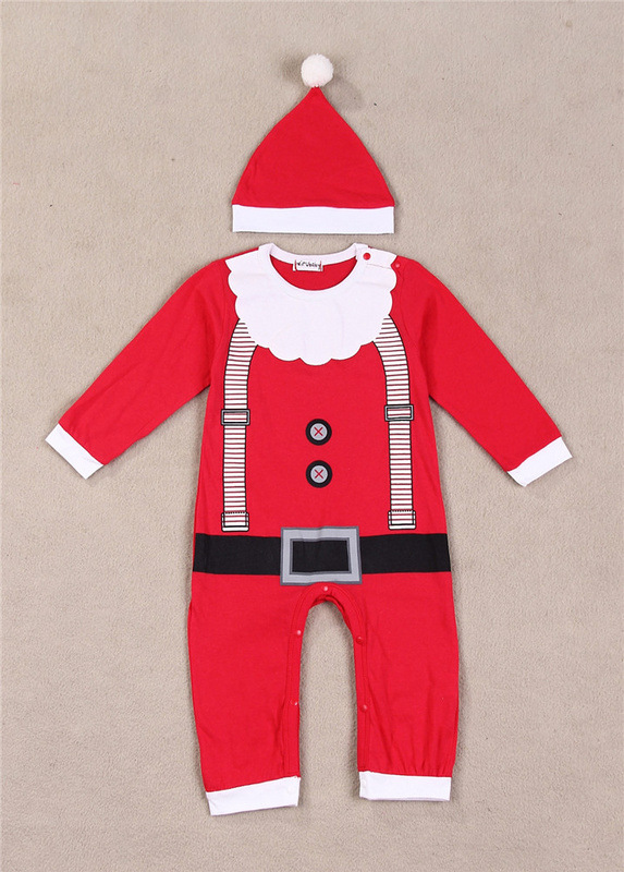 Factory direct sale the spring and autumn period and the children's clothes New Year Christmas lovely 2 color, the cloth