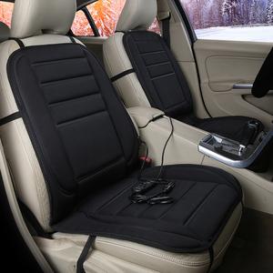 汽車加熱坐墊 車載座椅墊電熱暖墊靠墊通用冬季新款車用12V24座墊