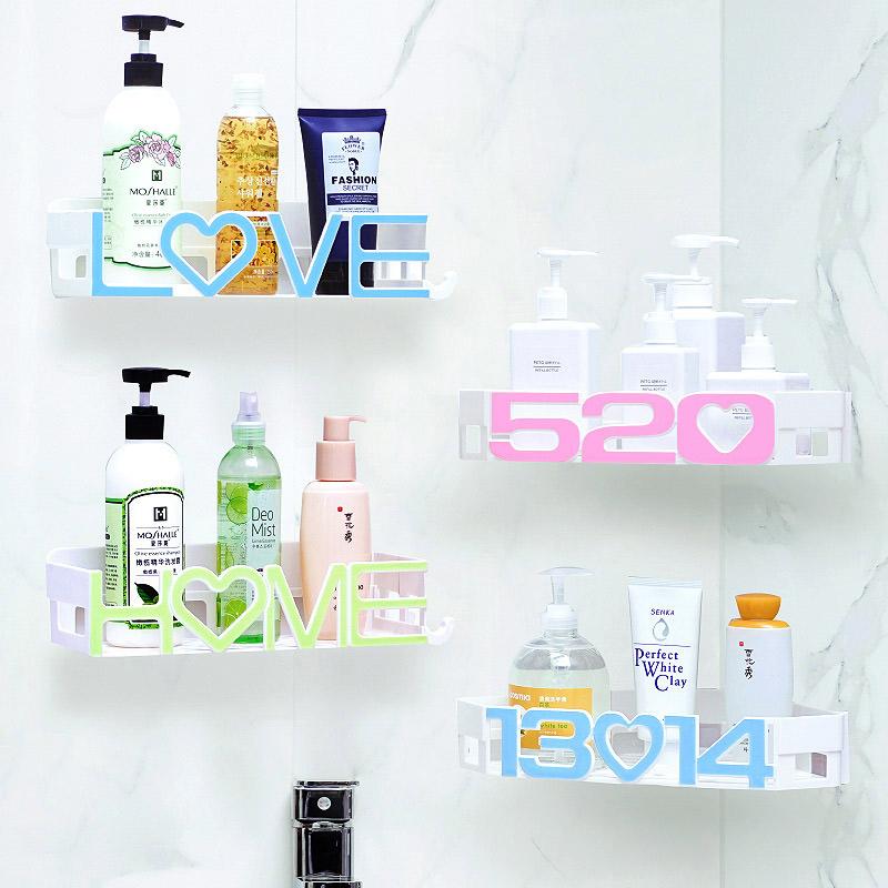 卫生间置物架壁挂洗手间洗漱台厨房厕所吸壁式浴室收纳盒免打孔