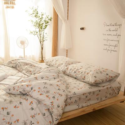 清仓微瑕 纯棉床单单件 全棉单双人被套1.5m1.8m学生宿舍床上用品