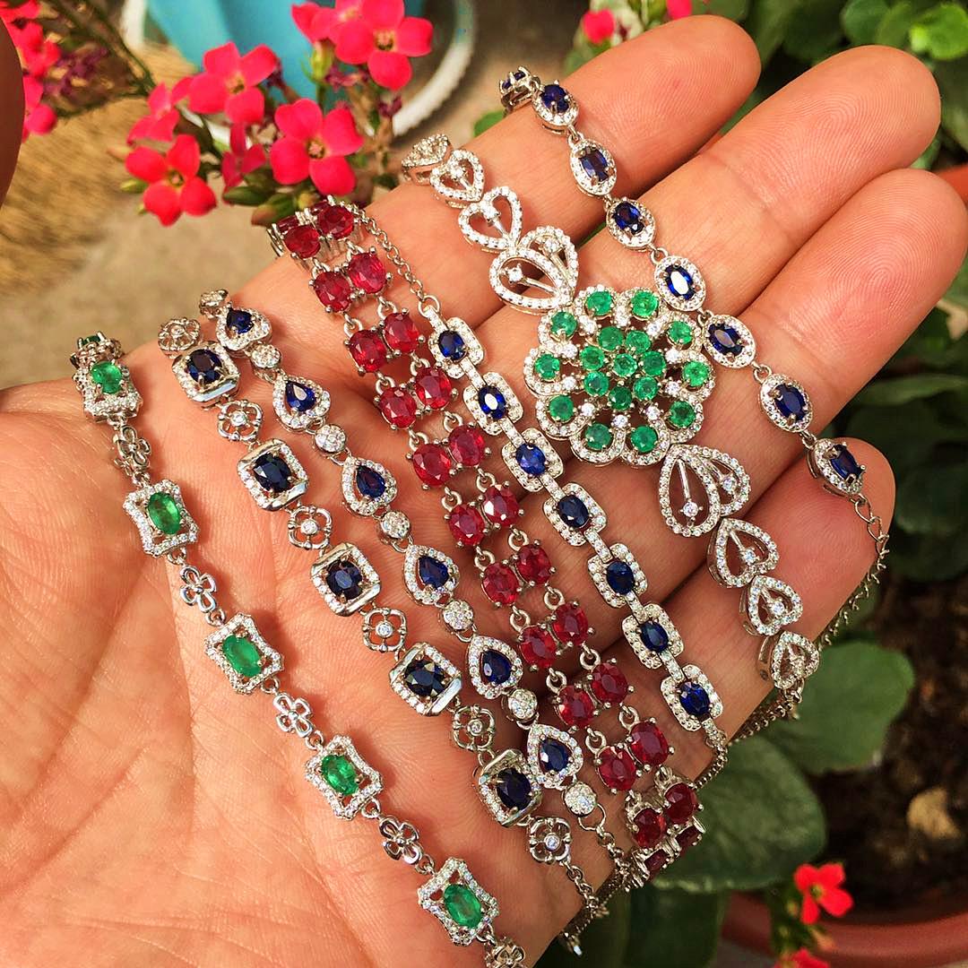 Sapphire emerald Ruby tourmaline Aquamarine Topaz opal garnet